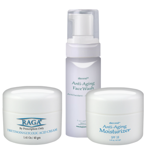 Buy RAGA Cream & Anti-Aging Moisturizer & Anti-Aging Face Wash and save $20.