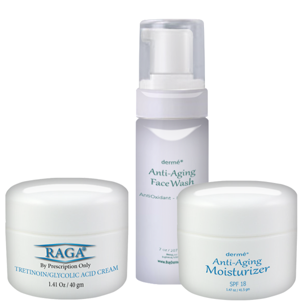 Buy RAGA Cream & Anti-Aging Moisturizer & Anti-Aging Face Wash and save $20.