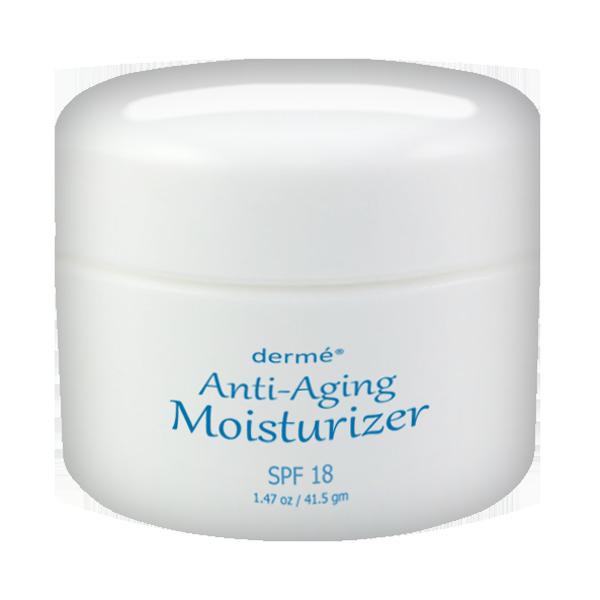 dermé anti aging moisturizer