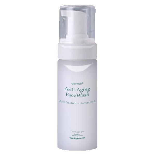dermé anti-aging face wash