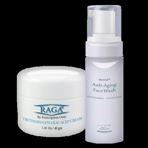 Buy RAGA Cream & Anti-Aging Face Wash and save $20.